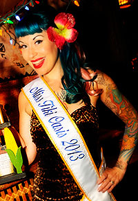 Burlesque Show Tiki Oasis 14 August 14 17 2014 In San